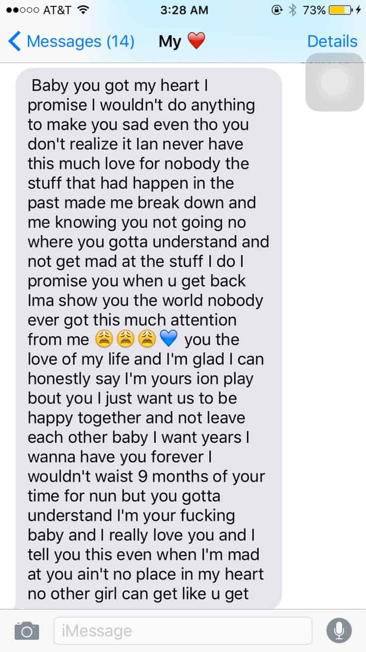 Cute Paragraphs For Her With Emojis Images