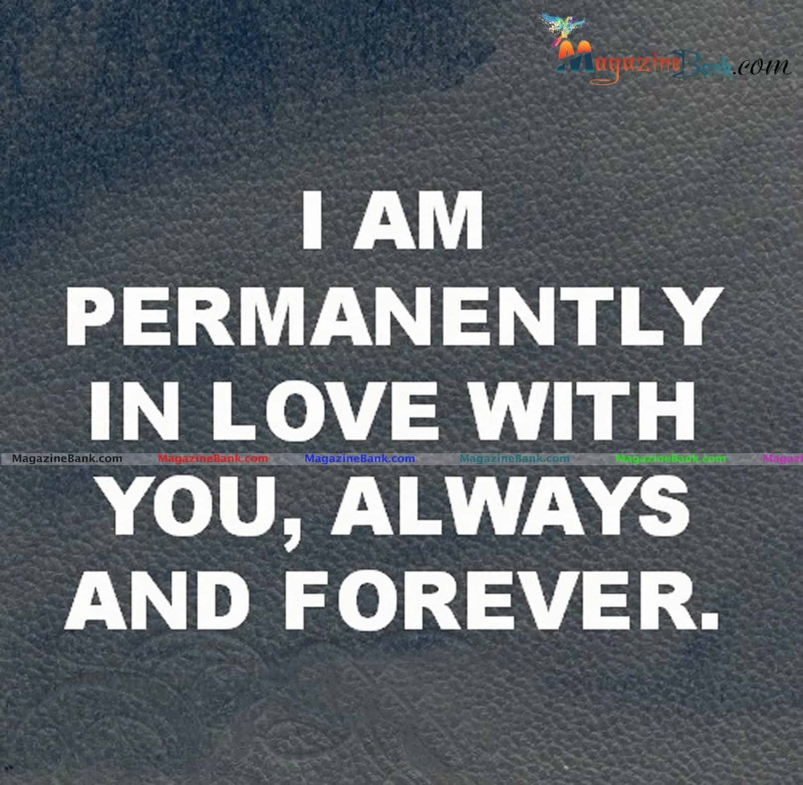 Foreever In Love With You Romantic Quote For Him