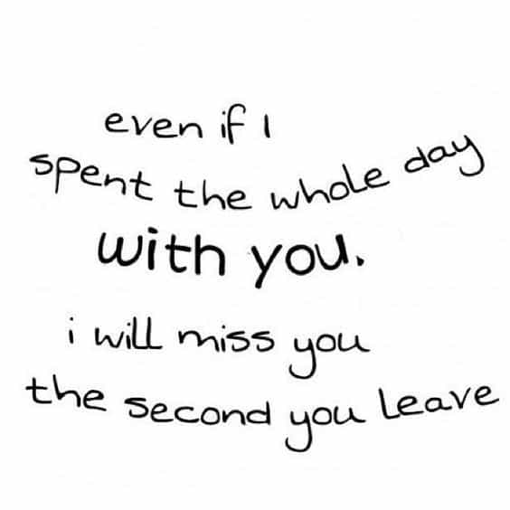 I Always Miss You Quote Picture For Boyfriend