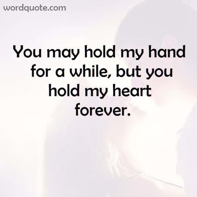 You Hold My Heart Forever Boyfriend Quote Images