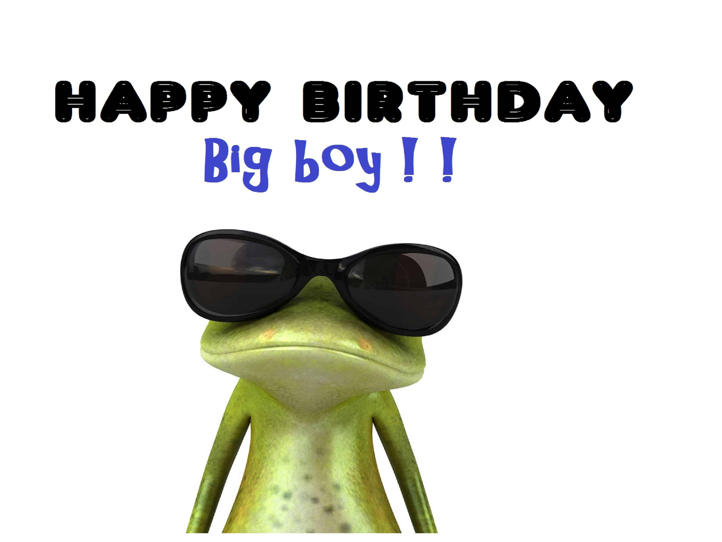 Funny Birthday Picture For Him