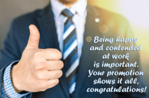 Congratulations on Your Promotion Quote with-Images