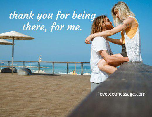 Me for being thank you patient with you for