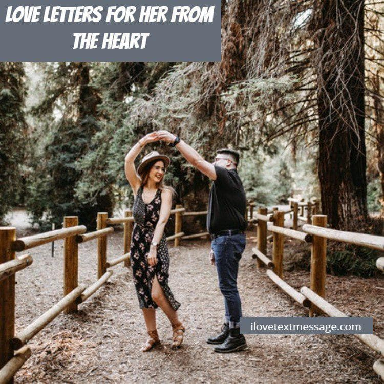 Love letters for her from the heart  love letters for her