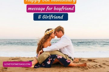 Happy 5th Monthsary Messages For Boyfriend And Girlfriend