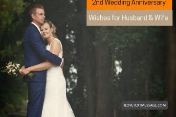 2nd Wedding Anniversary Wishes For Husband And Wife