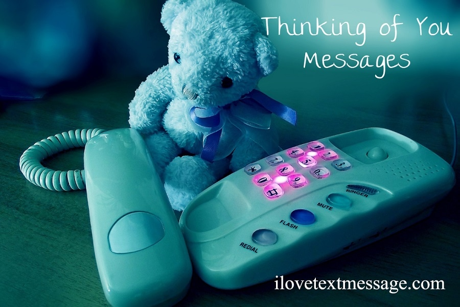 Thinking Of You Messages